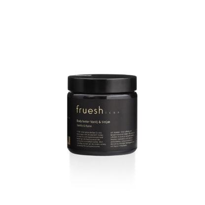 Fruesh Cosmetics Body butter ICON vanilj och timjan