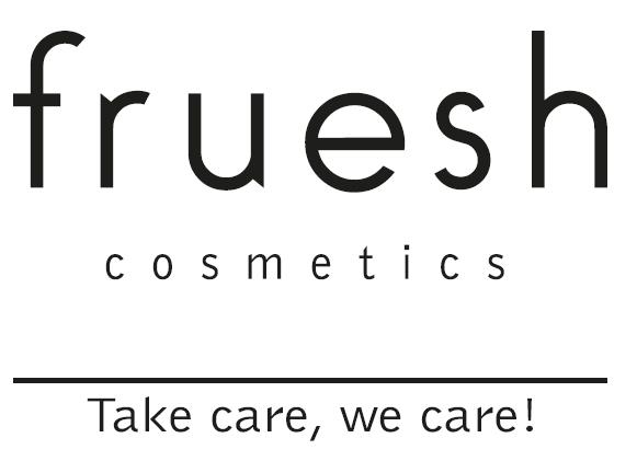Fruesh logo med slogan